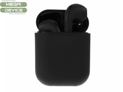Слушалки TWS i12 Bluetooth 5.0 Earphones, Черен