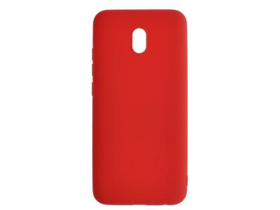 Силиконов гръб Matte за Xiaomi Redmi 8A, Червен