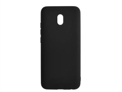 Силиконов гръб Matte за Xiaomi Redmi 8A, Черен