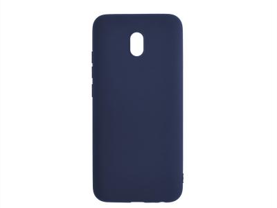 Силиконов гръб Matte за Xiaomi Redmi 8A, Тъмно син