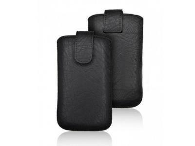 Универсален калъф с издърпване - Kora 2 - Samsung i9100 Galaxy S2 / LG L7 Black