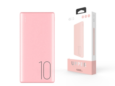 Power Bank Recci Upper Ru-10 000 mAh Pink