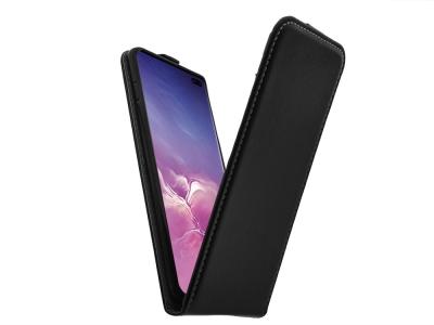 Калъф Тефтер Slim Flexy - Samsung Galaxy S10 Plus (G975) - Black