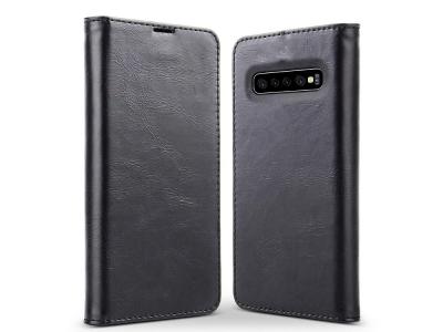 Калъф Тефтер Magnetic Book Case - Samsung Galaxy S10 Plus - Black