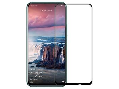 Стъклен Протектор 5D Full Glue за Huawei Honor 9X / P Smart Pro (2019) , Черен