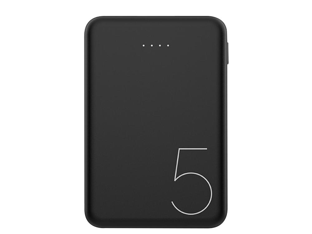 Универсална външна батерия Recci Upper Ru-5000mAh, Черен