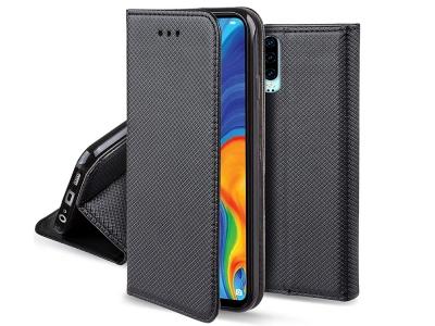 Тефтер странично отваряне Smart Case Book - Huawei P30 - Black