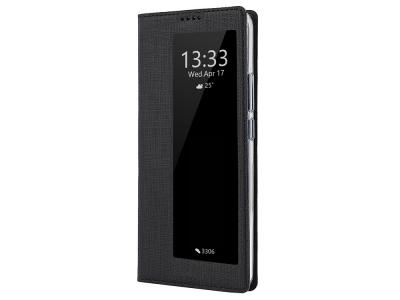 Калъф тефтер с прозорец за Huawei P30 Pro , Черен