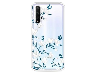Силиконов Гръб за Huawei Honor 20 / Nova 5T / Honor 20s, Цветя