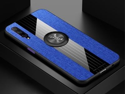 Твърд Гръб с Поставка - P Smart Pro (2019) / Huawei Y9s / Honor 9X Pro  - Blue
