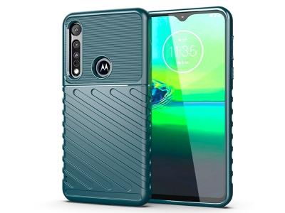 Силиконов гръб Twill Skin за Motorola Moto G8 Play/One Macro, Зелен