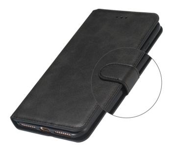 Калъф Тефтер за Motorola Moto E6 Play, Черен