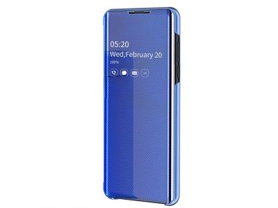 Калъф Тефтер Clear View Window - Xiaomi Redmi Note 8 Pro - Blue