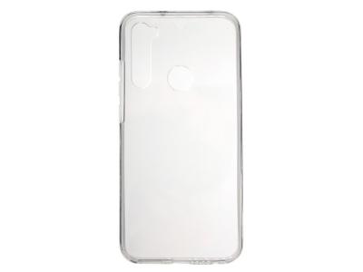 360 градуса Калъф PC + TPU за Xiaomi Redmi Note 8, Прозрачен