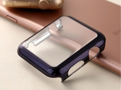 Удароустойчив калъф за Apple Watch Series 4, Черен