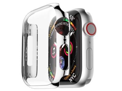 Удароустойчив калъф за Apple Watch Series 4, Сребрист