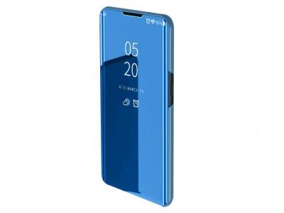 Калъф Тефтер View Window Mirror за Xiaomi Redmi Note 8 Pro, Светло син