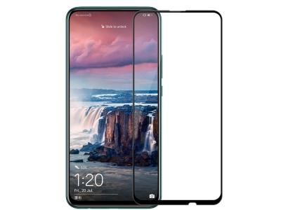 Стъклен Протектор 5D Full Glue за Huawei P Smart Pro (2019), Черен