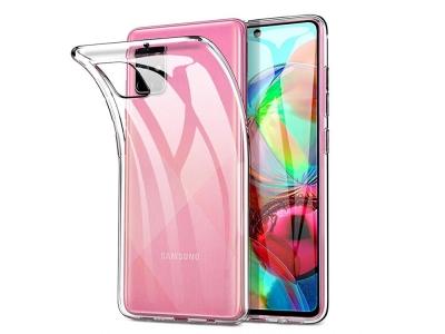 Силиконов гръб за Samsung Galaxy A71 (2019), Прозрачен