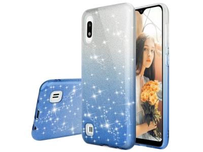 Калъф Гръб SHINING - Samsung Galaxy A10 - Silver Blue