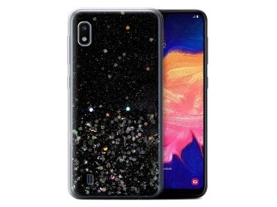 Силиконов Гръб Vennus Brillliant за Samsung Galaxy A10, Прозрачен