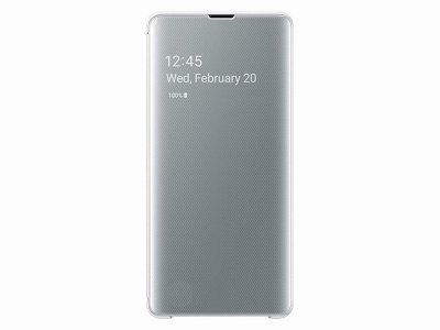EF-ZG975CWE SAMSUNG Clear View Cover White Samsung S10 Plus