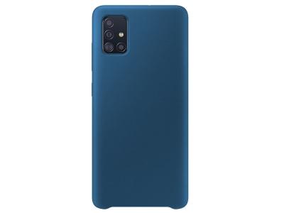 Силиконов  Гръб LUX за Samsung Galaxy A51 (2019) , Тъмно син