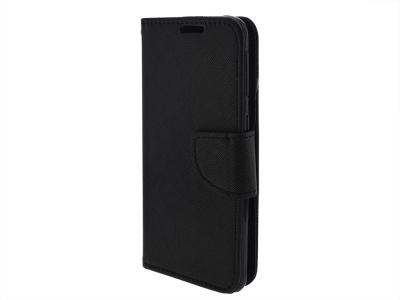 Калъф Тефтер Fancy за Samsung Galaxy A51 (2019), Черен