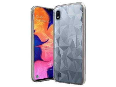 Силиконов гръб PRISM за Samsung Galaxy A10, Прозрачен