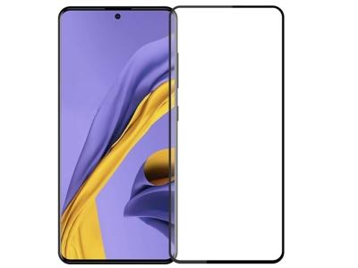 Стъклен Протектор 5D Full Glue Roar за Samsung Galaxy A51 (2019), Черен