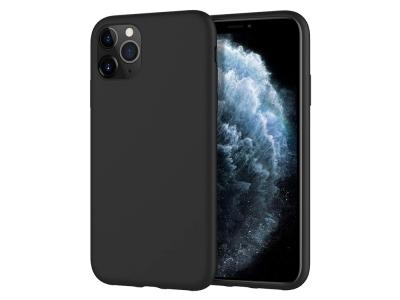 Силиконов Гръб Level за iPhone 11 Pro , Черен