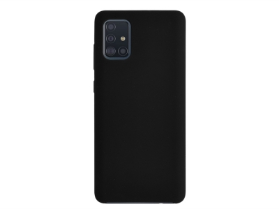 Калъф Гръб LUX за Samsung Galaxy A51 (2019), Черен
