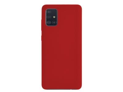 Калъф Гръб LUX за Samsung Galaxy A71, Червен