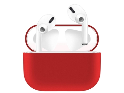 Силиконов Калъф - Airpods PRO Box Red