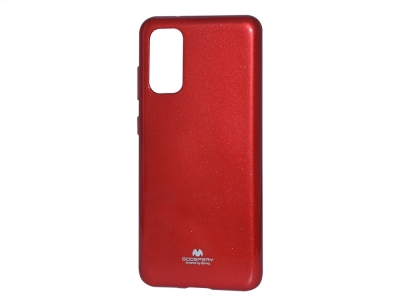 Силиконов гръб Jelly Mercury за Samsung Galaxy S20 / S11E (G980), Червен