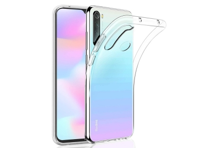 Силикон Ултра Слим - Xiaomi Redmi Note 8T - Transparent