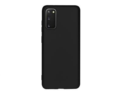 Силиконов Гръб Level - Samsung Galaxy S20 - Black