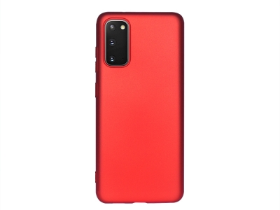 Силиконов Гръб Level - Samsung Galaxy S20 - Red