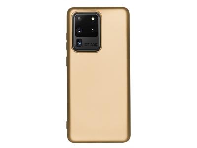 Силиконов Гръб Level за Samsung Galaxy S20 Ultra, Златист