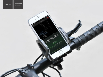 Поставка за Велосипед HOCO CA14, Черен / Сив