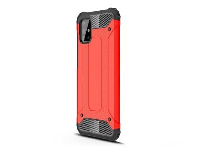 Удароустойчив гръб Armor за Samsung Galaxy A51, Червен