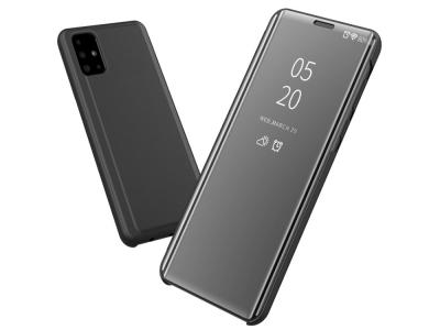 Калъф Тефтер View Window за Samsung Galaxy A51, Черен