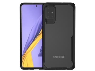 Удароустойчив гръб Shock-resistant за Samsung Galaxy A51, Черен