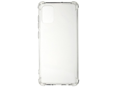 Силиконов Гръб Drop-resistant за Samsung Galaxy A71, Прозрачен