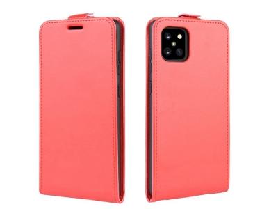 Калъф Тефтер Vertical за Samsung Galaxy A81 / Note 10 Lite, Червен