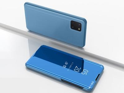 Калъф Тефтер View Window за Samsung Galaxy A81 / Note 10 Lite, Светло син