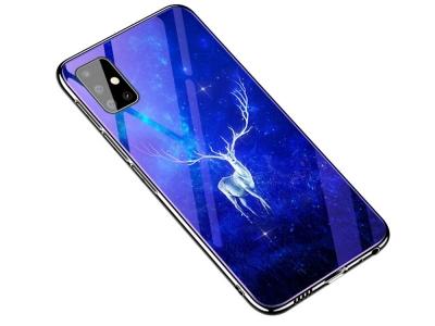 Стъклен гръб Glass Blue-ray за Samsung Galaxy A51, Елен