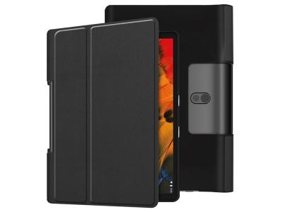 Калъф Тефтер за Lenovo Yoga Smart Tab 10.1/Tab 5 YT-X705 with Stand Tablet Case, Черен