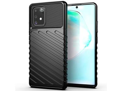 Силиконов Гръб Thunder Series - Samsung Galaxy S10 Lite / A91 - Black
