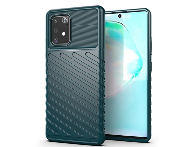 Силиконов Гръб Thunder Series - Samsung Galaxy S10 Lite / A91 - Green